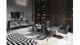 Gucci Black & Silver Yemek Odası