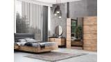 Loft Ceviz Yatak Odası