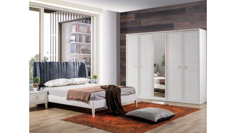 Melis Beyaz Yatak Odası